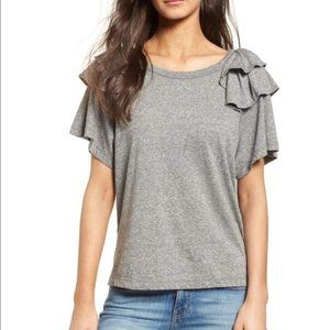Current Elliott | The Double Ruffle Tee